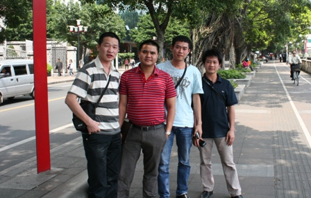 HDEngineering staff visited GuangZhou city - China in April/2012